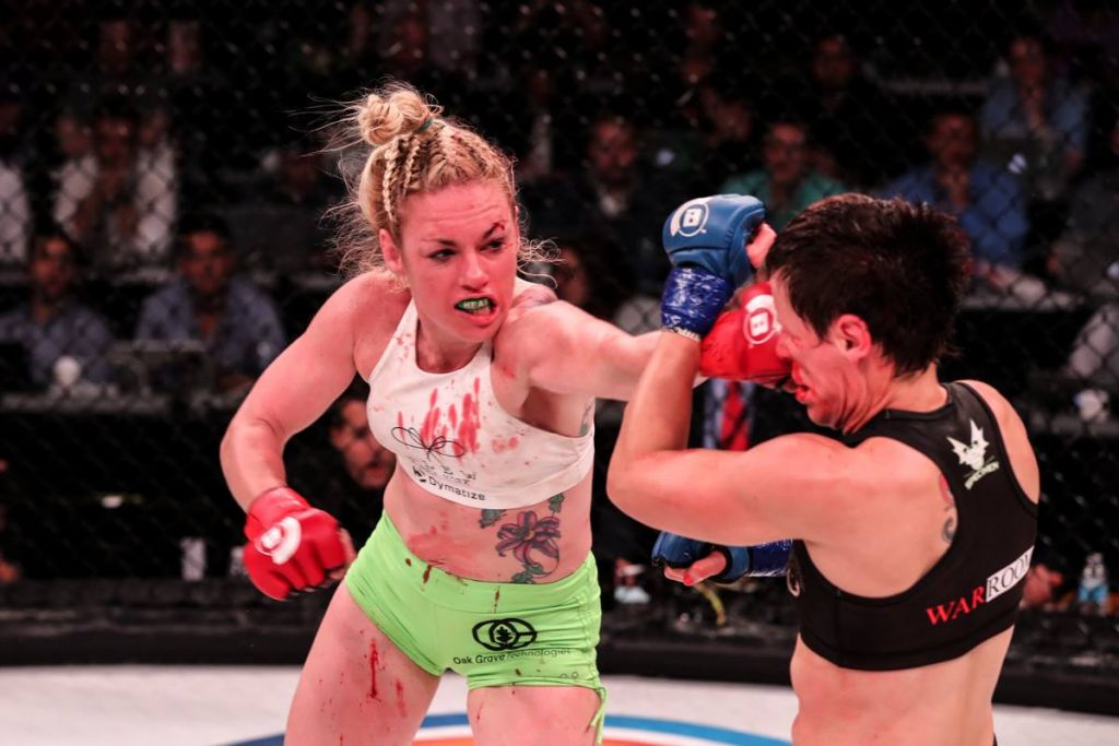 Heather Hardy after win in MMA debut: 'I think I just fell in love'