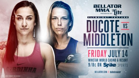 Valerie Letourneau out of Bellator 181 event