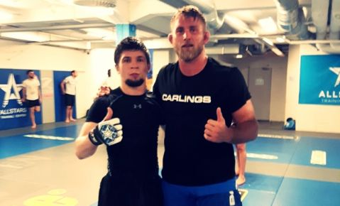 FFC champ Ahmed Vila training with UFC elite