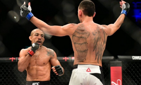 Max Holloway on Jose Aldo: 'Brazil needs to celebrate that man'