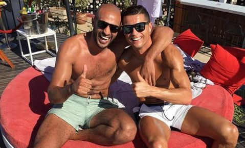 Real Madrid concerned about Cristiano Ronaldo's regular trips to Morocco to Badr Hari