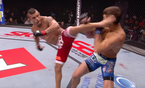 Belfort to Rockhold 'Your head is still spinning from the 2013 loss'