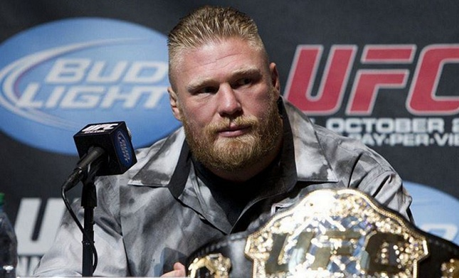UFC rumors – Brock Lesnar to fight for the title