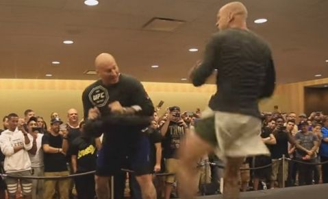 UFC on Fox 17 Orlando workout highlights (VIDEO)