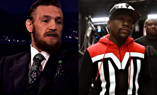 Mayweather on McGregor: 'If he did steal my blueprint, I think it's a good thing.'