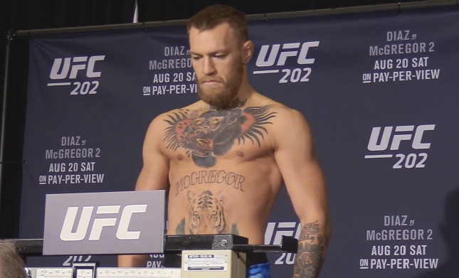 McGregor no longer wants to fight in Nevada
