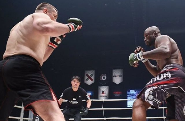 King Mo: As a matter of fact, I wanted to fight Cro Cop