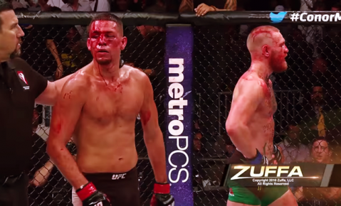 """Diaz on Conor: """"F*ck Conor. He can f*cking fight himself."""""""