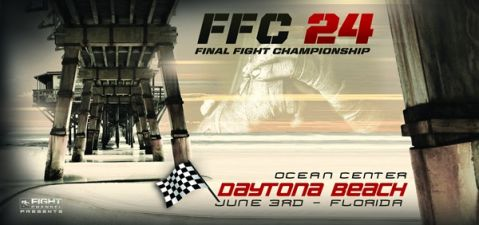 FFC reveals FFC 24 Daytona Beach and FFC 25 Springfield fight cards