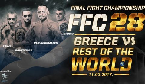 "FFC 28 – ""Greece vs. Rest of the World"" settled for March!"