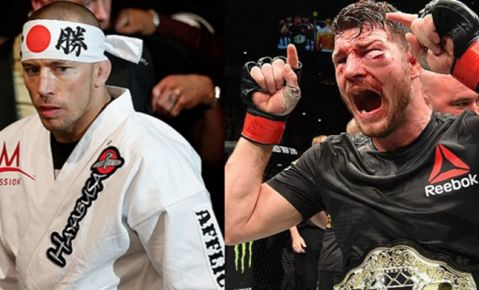 Georges St-Pierre vows to retire Michael Bisping at UFC 217