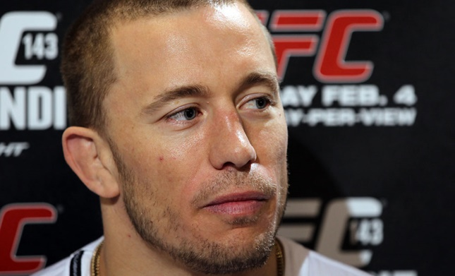 Georges St-Pierre drank bad watermelon juice night before fighting Nick Diaz at UFC 158