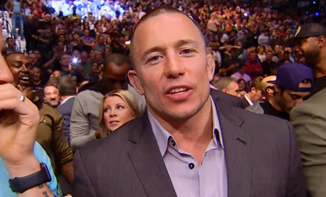 Georges St-Pierre says new contract makes himself and the UFC 'unhappy in a way'