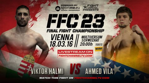 FFC 23: Halmi gets a new opponent in the title match!