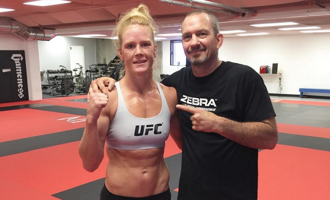 Holly Holm coach: 'If Ronda Rousey has the guts to do it again, we'll do a big money fight at UFC 200'