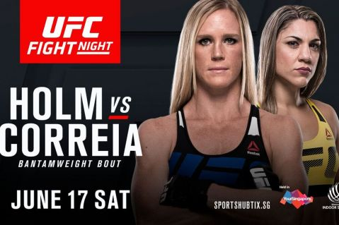 UFC Fight Night 111 Singapore lineup official