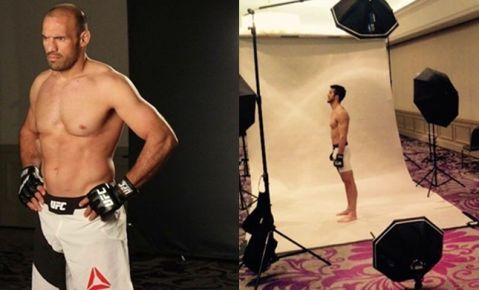 Pokrajac and Pejić pose for UFC cameras (PHOTO)