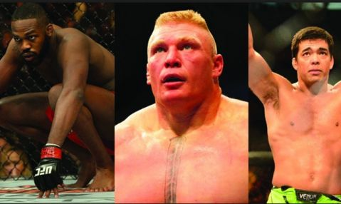 Jones, Lesnar and Machida dropped from UFC rankings