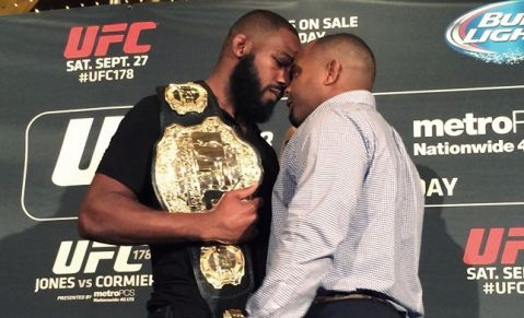 Daniel Cormier to Jon Jones: 'You're a cheater and a snitch'