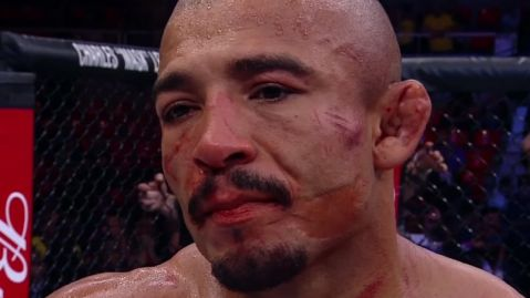 "Andre Pederneiras: ""Jose Aldo didn't throw kicks vs. Max Holloway due to leg injury"""