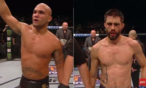 Carlos Condit's coach believes he did 'more than enough' to beat Robbie Lawler (VIDEO)