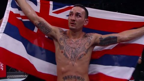 Max Holloway on Mayweather's MMA debut: 'If people believe that kind of stuff, it's wild'
