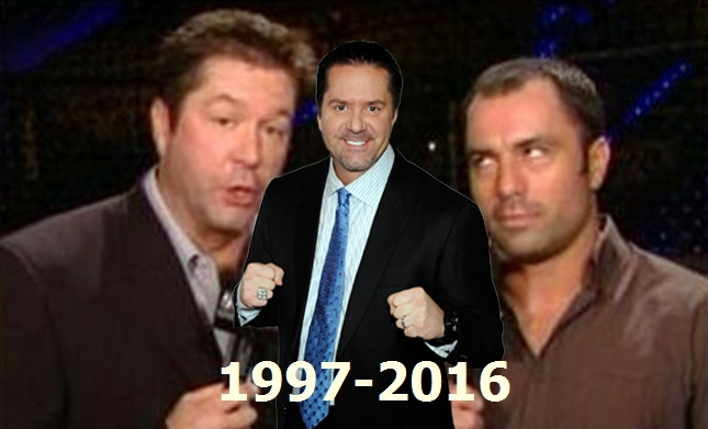 Mike Goldberg's best lines and funnies fights (VIDEO)