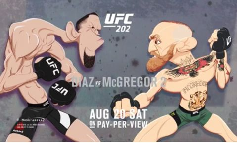 UFC 202: Animated Short Video