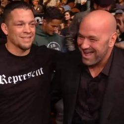 "Dana White: ""I'm not interested in making a Nate Diaz fight until Diaz is just dying to fight"""