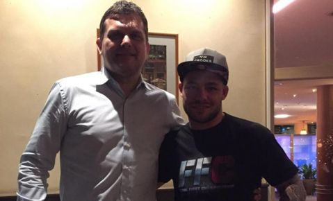 Sensational news: Robin Van Roosmalen signs with FFC for his MMA debut!