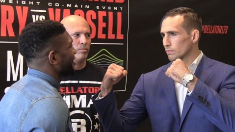 Bellator 179 media day face-offs (VIDEO)