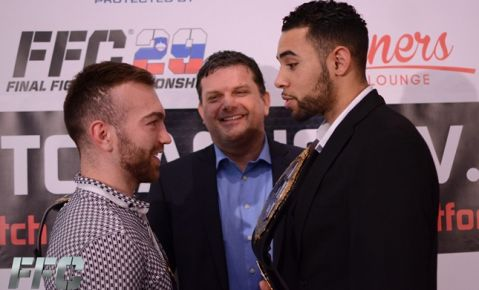 FFC 29: Press conference and Face-offs (PHOTO)
