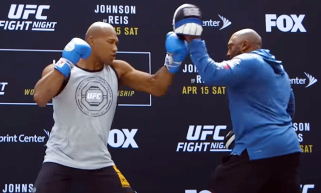 UFC on FOX 24: Demetrious Johnson Open Workout
