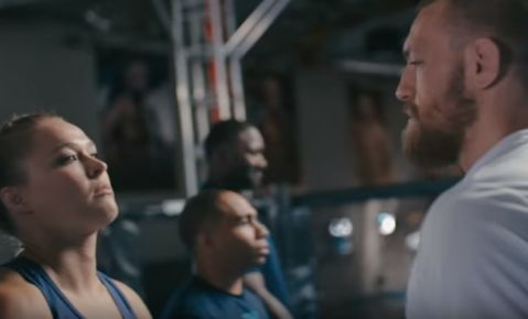 Ronda and McGregor in new Bud Light commercian (VIDEO)