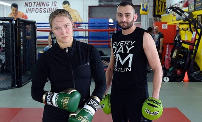 Olympic boxer who sparred with Ronda Rousey claims Tarverdyan lied Ronda was dropping world champions boxers in the gym