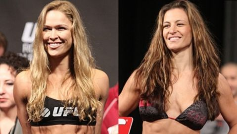 Miesha Tate believes Rousey is more worried about having babies with Travis Browne than making UFC comeback