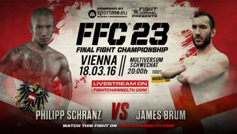 FFC 23 Vienna: Lineup changes, fight card gets reinforcement!
