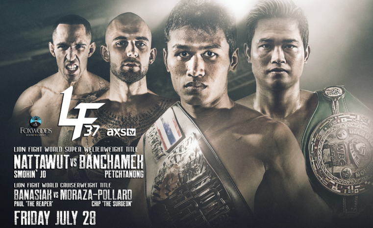 Two title bouts headline Lion Fight 37 lineup at Foxwoods