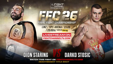 FFC 26: Pejić vs. Vila, Stošić in a title bout against Staring, Samo Petje's big comeback!