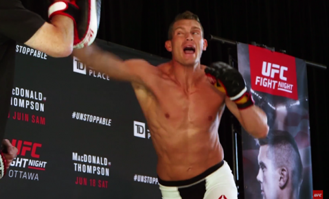 Fight Night Ottawa: Open Workout Highlights (VIDEO)
