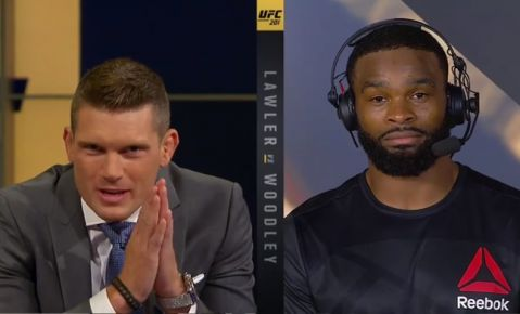 Stephen 'Wonderboy' Thompson asked Tyron Woodley for a chance at the title, Woodley said he'd rather fight Nick Diaz at UFC 202 instead