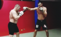 Darko Stošić getting ready for FFC 28 with boxer Stipe Drviš! (VIDEO)