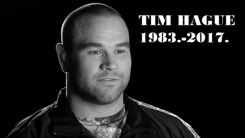 Adam Braidwood breaks silence on Tim Hague's death: 'I knew in the ring'