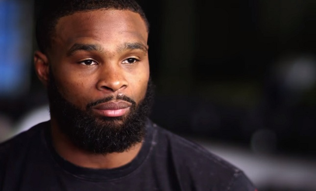 "Tyron Woodley: ""Dana White is the biggest drama queen"""