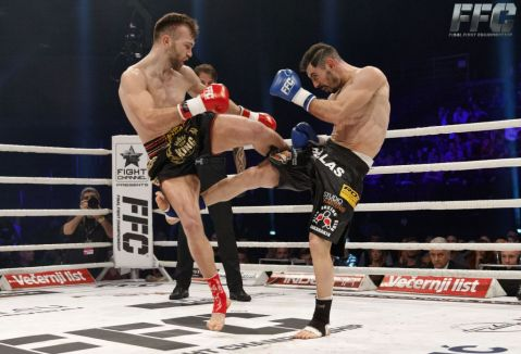 Samo Petje and Meletis Kakoubavas in rematch at FFC 28
