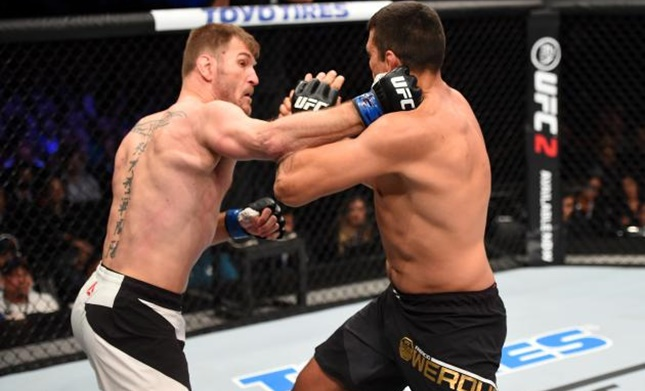 Fabricio Werdum explains why he rushed in against Stipe Miocic