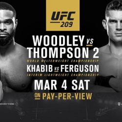 UFC 209 Finalized adding two more bouts
