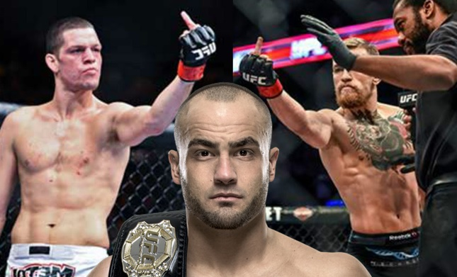 Eddie Alvarez on UFC 202 main event: 'Nate Diaz vs Conor McGregor is bullshit freakshow fight'