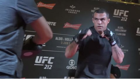 UFC 212: Open Workout Highlights