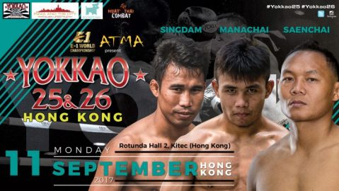 Saenchai, Singdam and Manachai to Headline YOKKAO 25 – 26